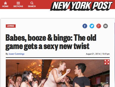 Bingo post Linda Simpson drag queen New york